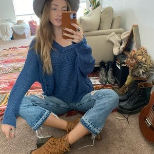 Baggy Free People sweater